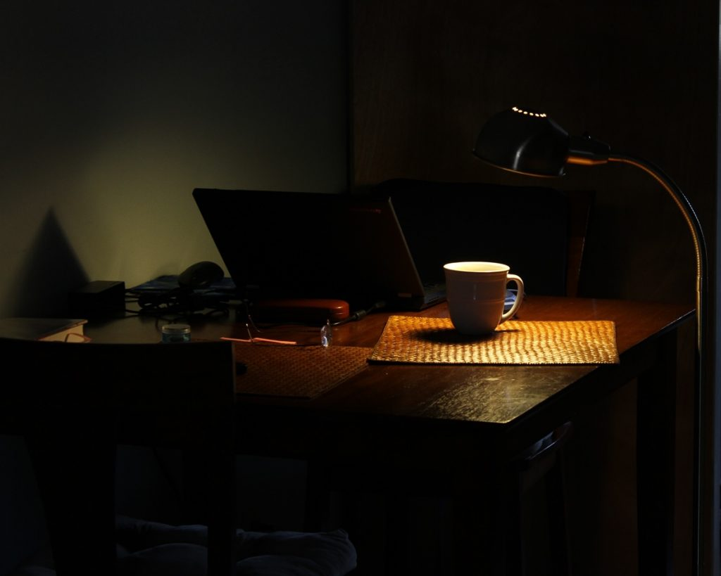 The writer's table