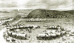 Religious Tourist to Wyoming in 1840