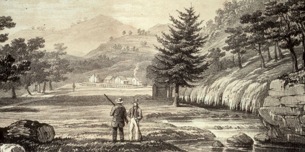 Hot Springs, Arkansas, in 1832