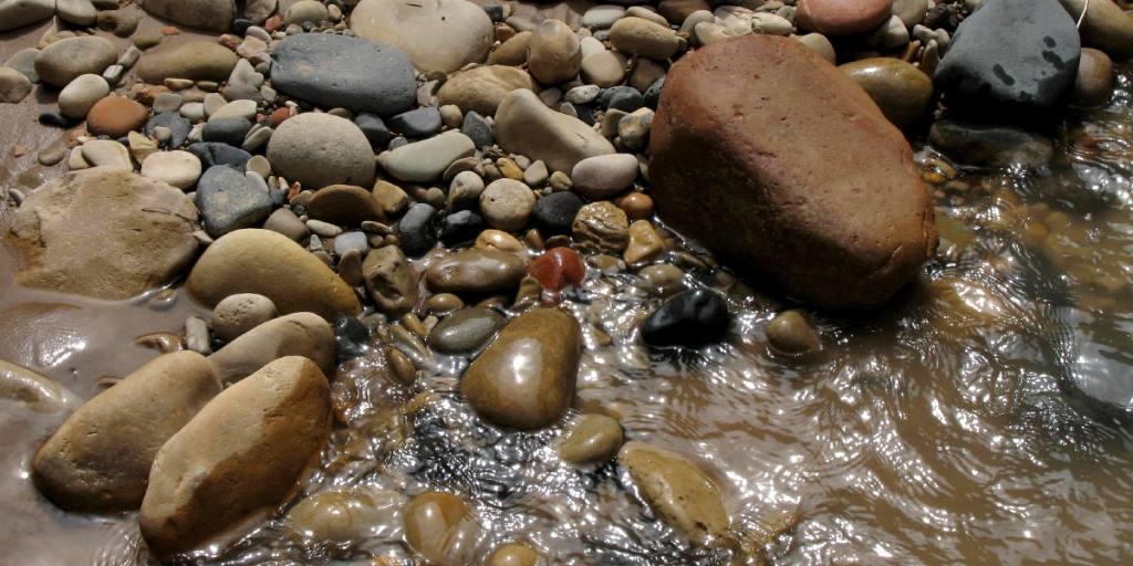 Stones of the Virgin River
