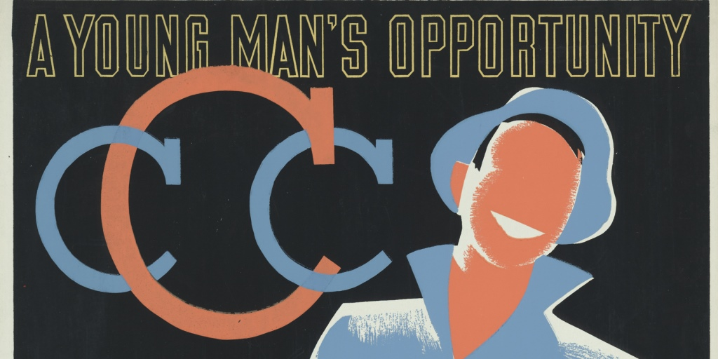 CCC poster, 1941