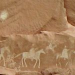 Canyon de Chelly Pictograph