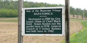 Shawnee Trail of Tears began at Wapatomica