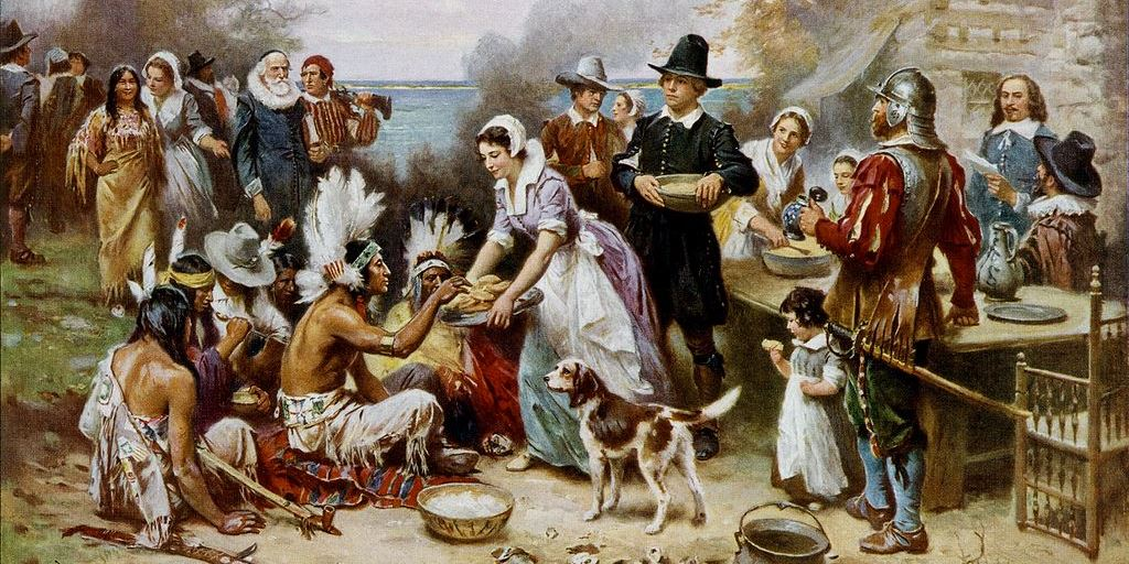 The First Thanksgiving 1621