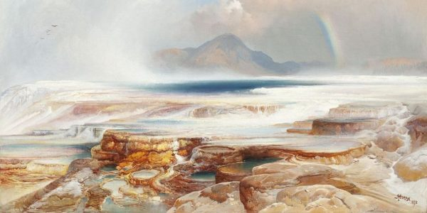 Yellowstone pilgrimage in 1866 by Jesuit 'Black Robe' Missionary