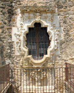 Rose window, Mission San José