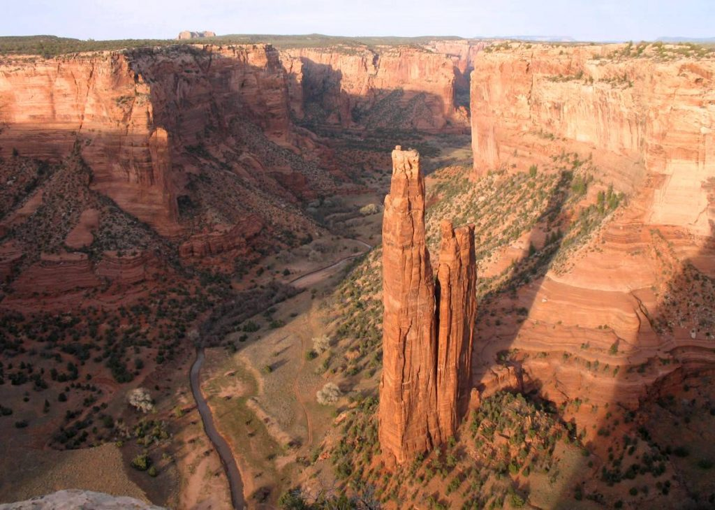 Spider rock, Canyon de Chelly National Monument, Navajo Nation