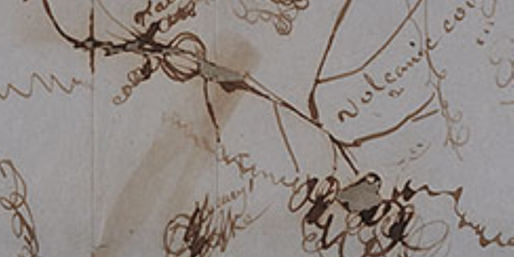 """Detail of Bridger/De Smet map """"Chart of the Head of Yellow Stone"""""""