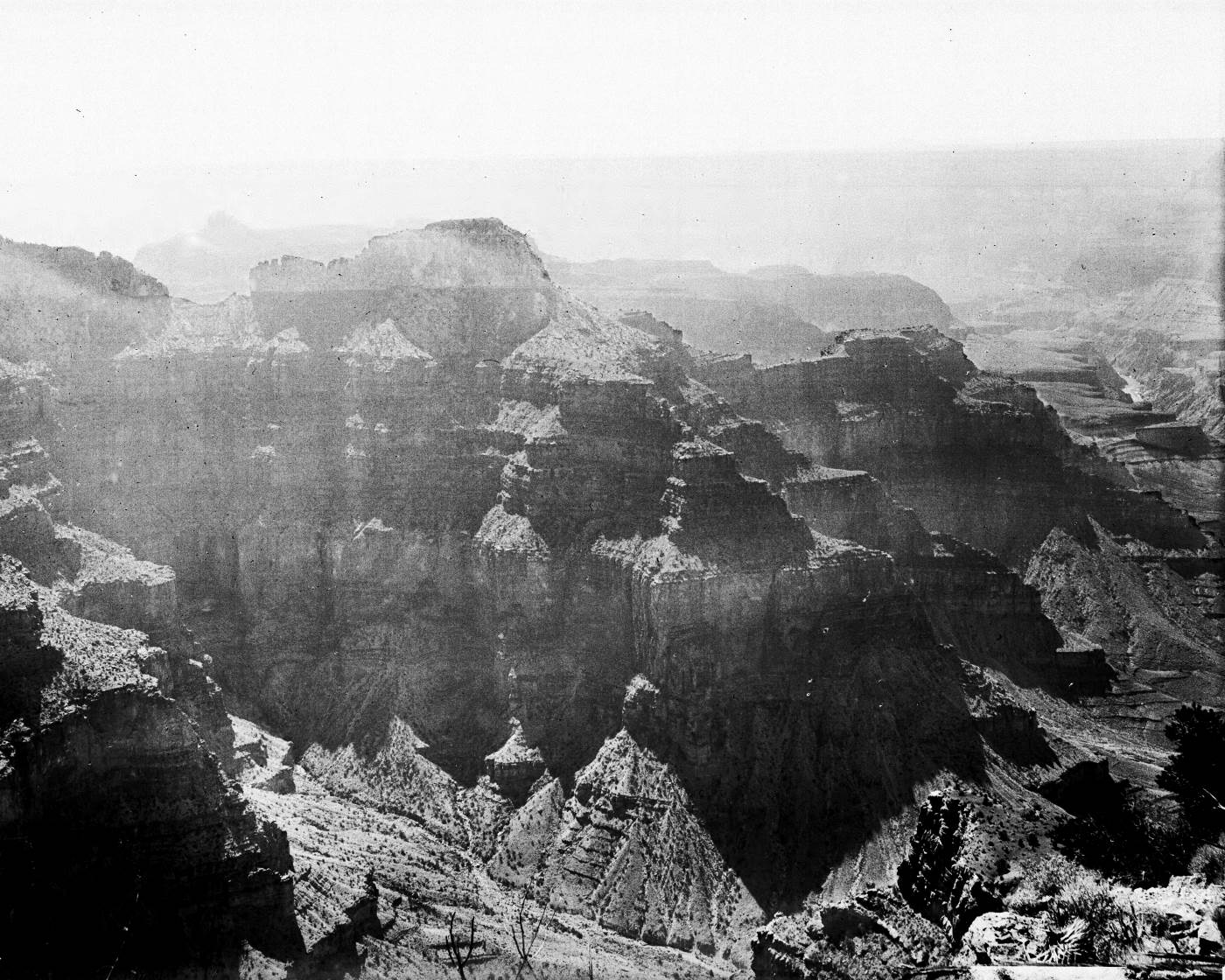 View from near Point Sublime on the north rim of the Grand Canyon, 1900-1930
