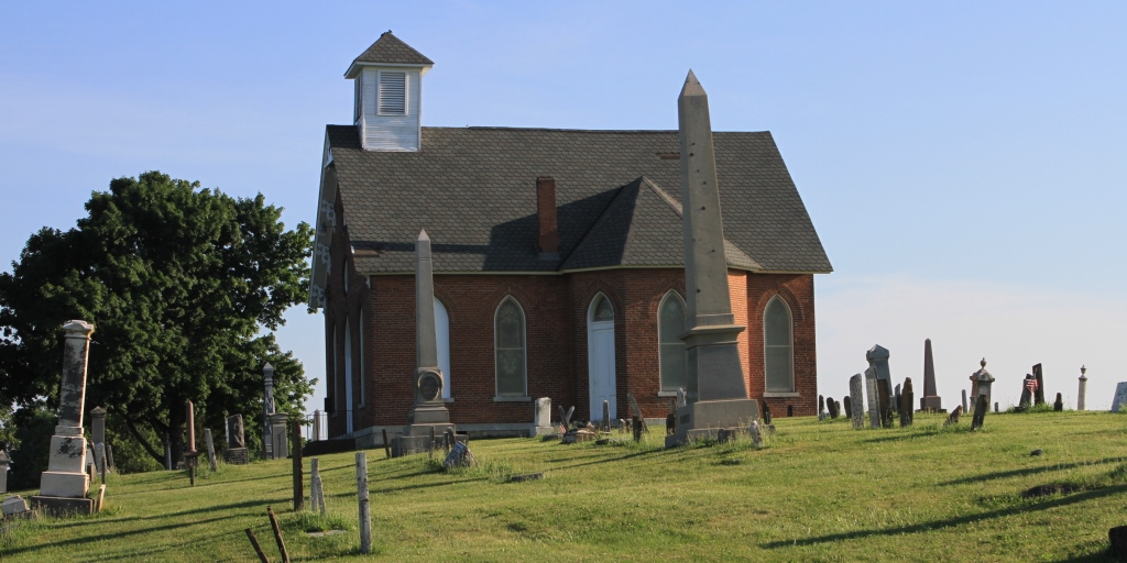 he historic Mount Tabor Church and Cemetery, Champaign County, Ohio