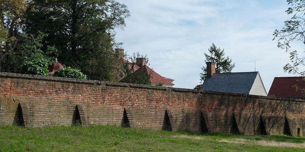 Wall at Mount Vernon, home of George Washington