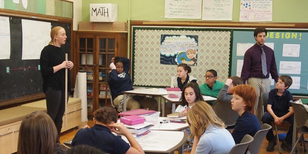 ECS Math classroom