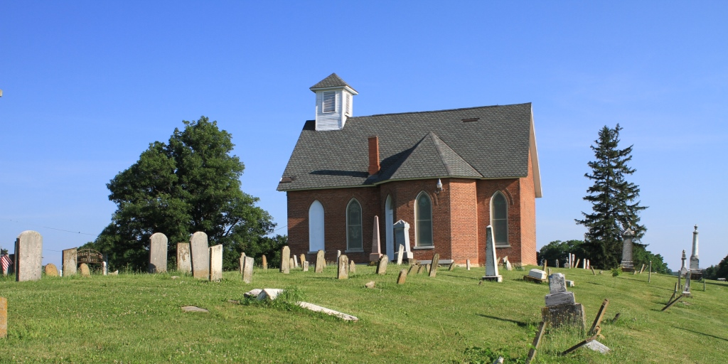 A place of memory, Mt. Tabor Church, Champaign County, Ohio