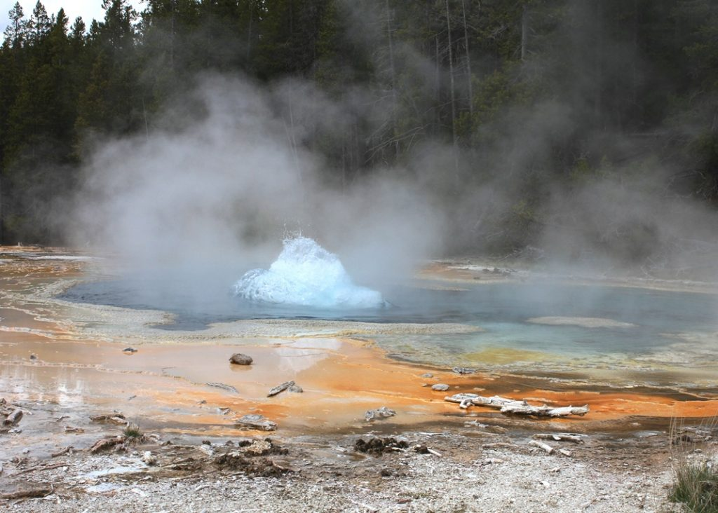 Solitary Geyser, Upper Geyser Basin, Yellowstone National Park