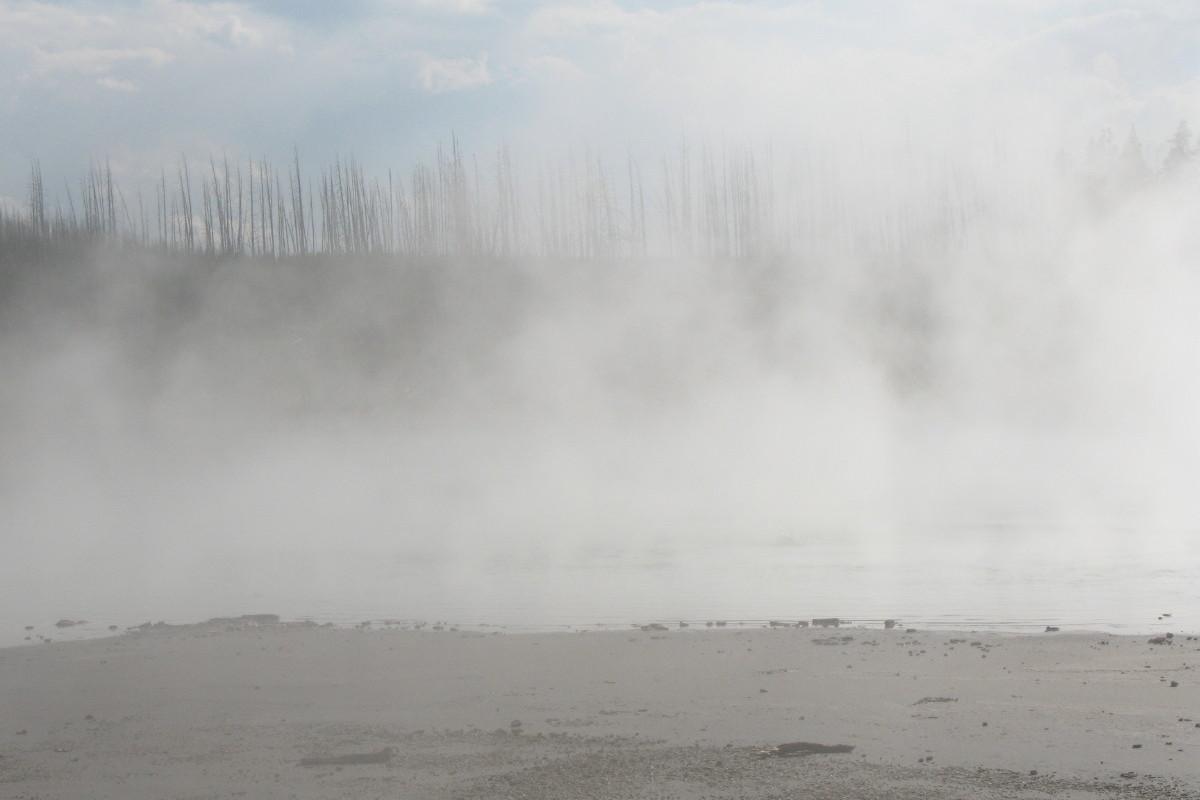 Yellowstone steam