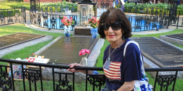 Kiki at Graceland: Elvis's most devoted fan