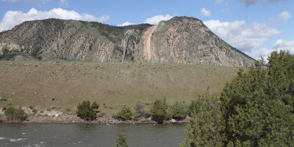 Devil's Slide on Cinnabar Mountain