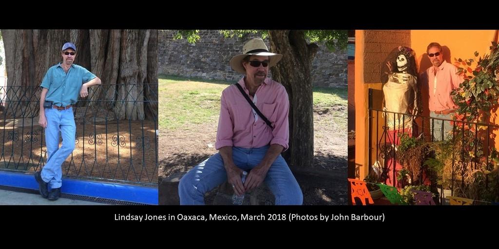 Lindsay Jones in Oaxaca, Mexico, March 2018