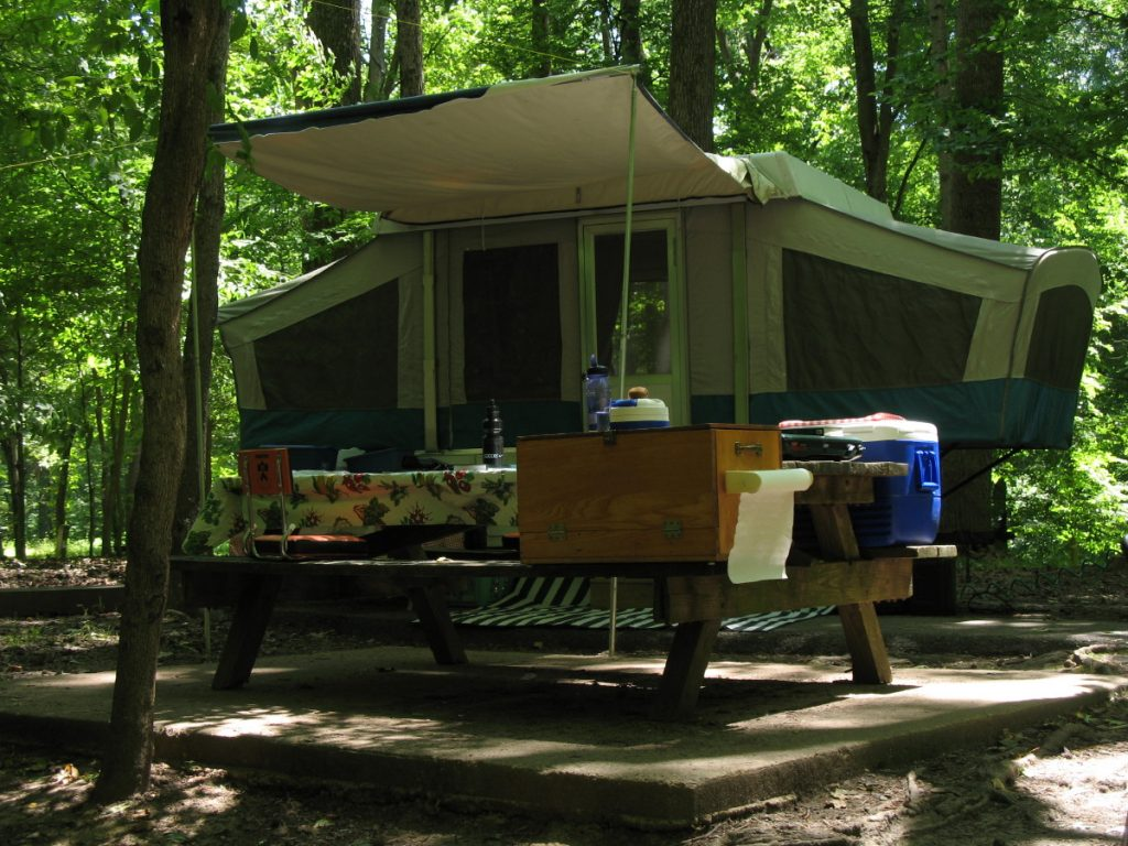 Camping, Meeman-Shelby Forest State Park
