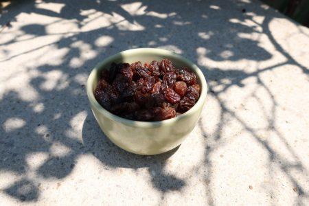 A yogic experience of raisin