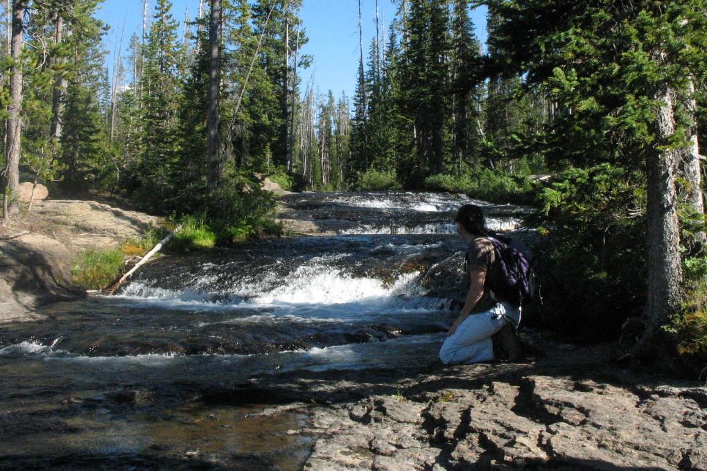 Cascade Creek, Yellowstone