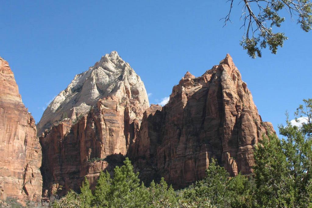 Three Patriarchs, Zion National Park